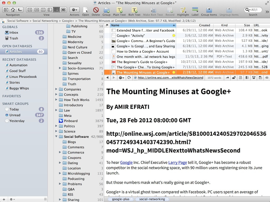 How to save a perfectly-scraped webpage into DEVONthink